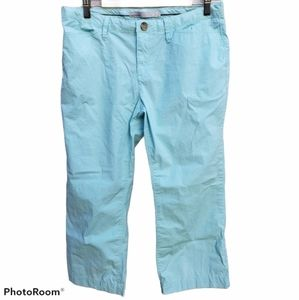 Old Navy Classic Rise Cropped Pants Blue (10)